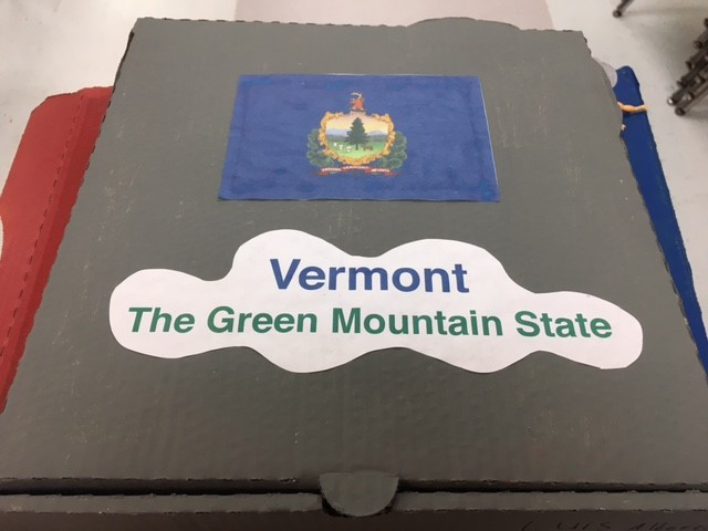 Vermont Landform Map Cover