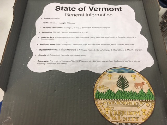 Vermont Inside Cover